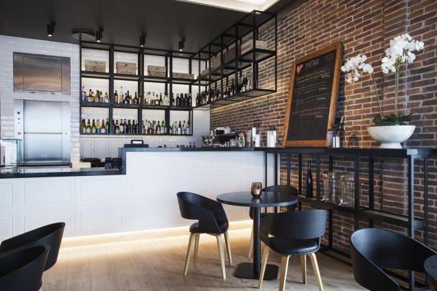 Bar van Hotel Island op IJsland