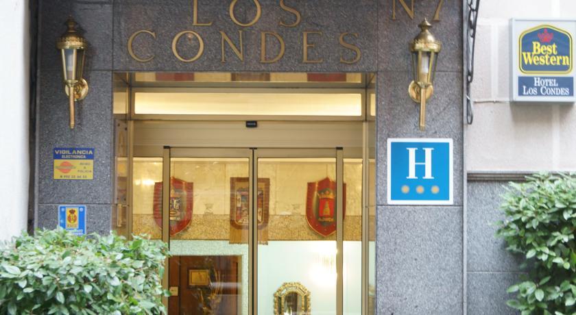 Entree van Hotel Best Western Los Condes in Londen
