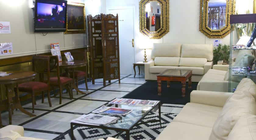 Lounge van Hotel Best Western Los Condes in Londen