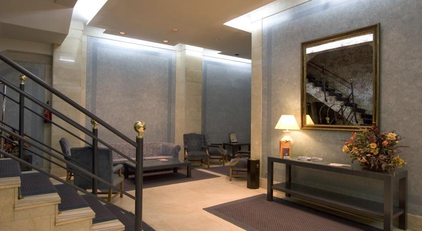 Lobby van Aparthotel Espa Plaza de España in Madrid