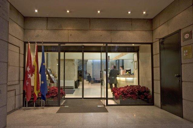 Entree van Aparthotel Espa Plaza de España in Madrid