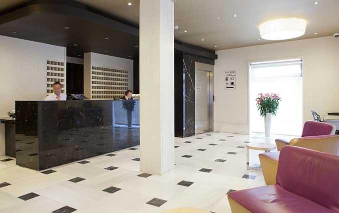 Lobby van Hotel Regente in Madrid