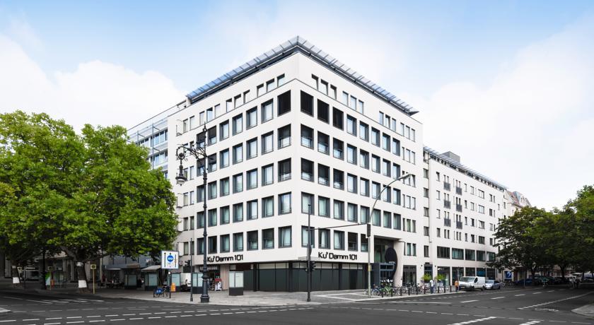 Gebouw van Hotel Ku'Damm 101 in Berlijn
