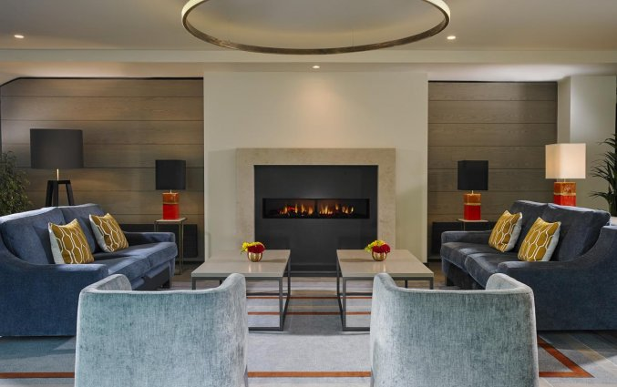 Lounge van Hotel Mespil in Dublin