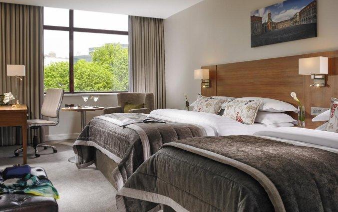Tweepersoonskamer van Hotel Mespil in Dublin