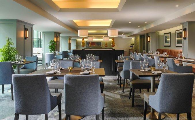 Restaurant van Hotel Mespil in Dublin