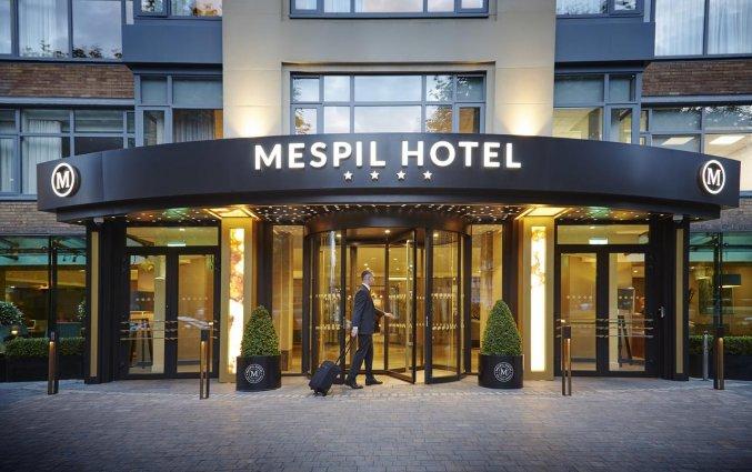 Gebouw van Hotel Mespil in Dublin