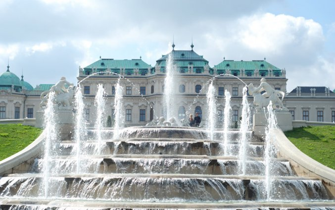Wenen - Slot Belvedere
