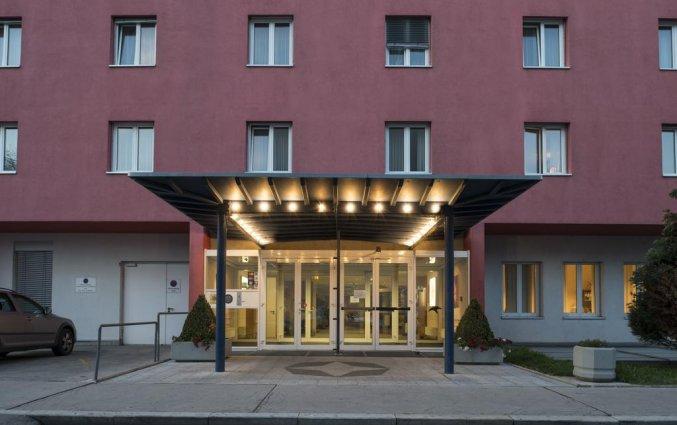Buitenzijde van cityhotel Arion Vienna in Wenen