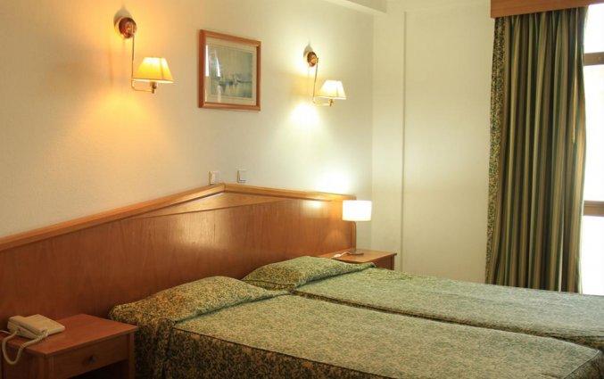 Tweepersoonskamer van Hotel Colina do Mar in de Algarve