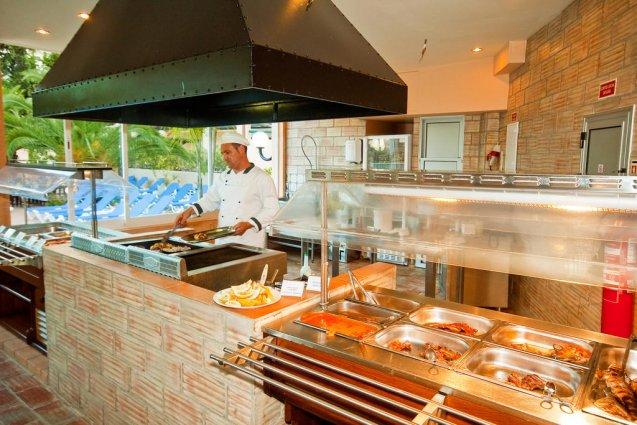 Ontbijtbuffet van Hotel Balaia Mar in de Algarve