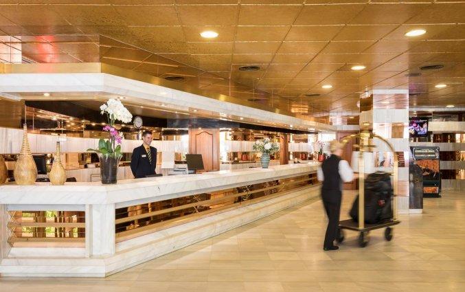 Receptie van Hotel Top-HRoyal Sun in Santa Susanna