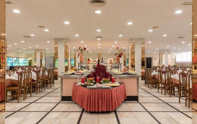 Ontbijtbuffet van Hotel Top-HRoyal Sun in Santa Susanna