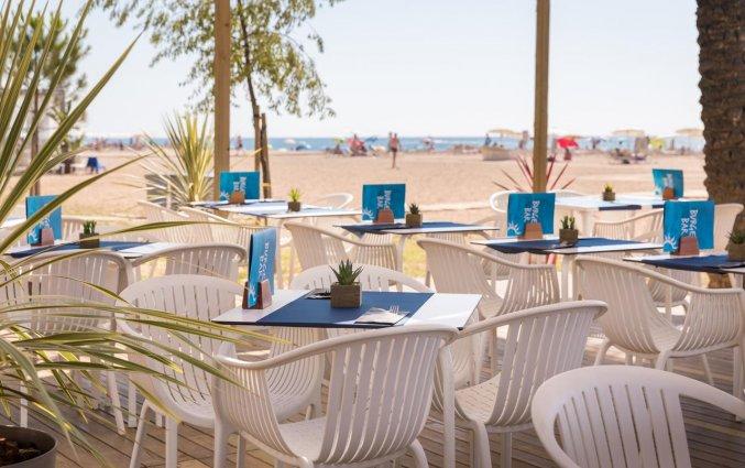 Terras van Hotel Top-HRoyal Sun in Santa Susanna