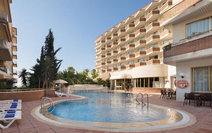 Buitenzwembad van Hotel Top-HRoyal Sun in Santa Susanna