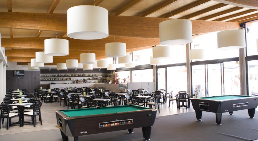 Spellenkamer van Hotel Papi aan de Costa Brava