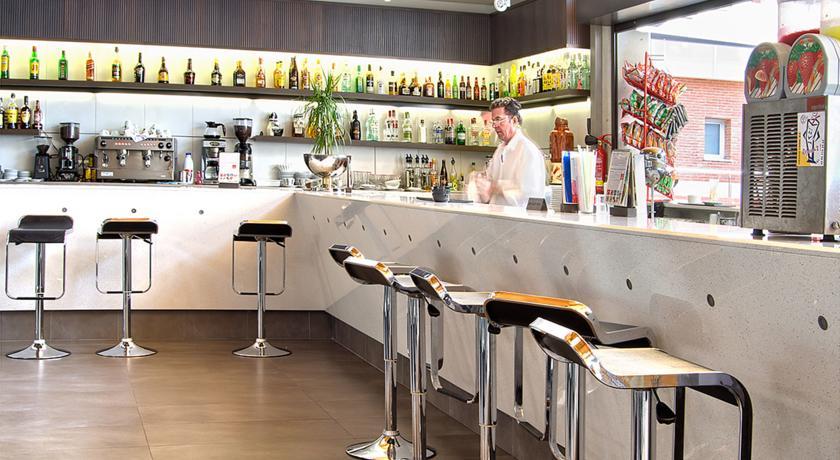 Bar van Hotel Papi aan de Costa Brava