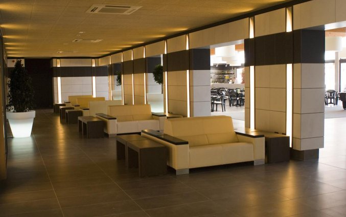 Lounge van Hotel Papi aan de Costa Brava