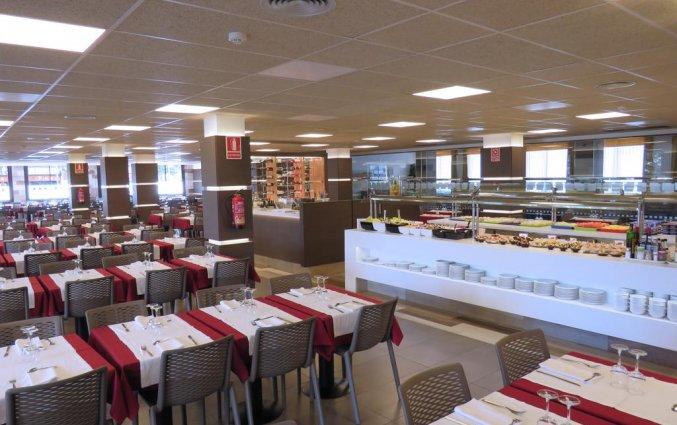 Restaurant van Hotel Papi aan de Costa Brava