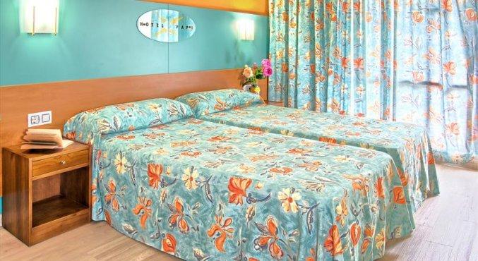 Kamer van Hotel Papi aan de Costa Brava