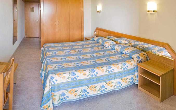 Slaapkamer van Hotel Volga in Costa Brava