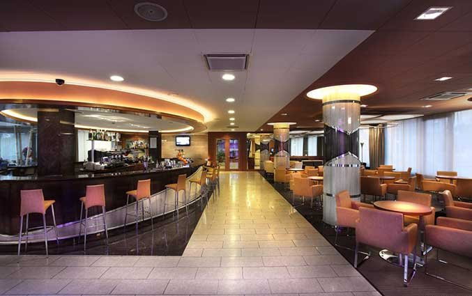 Lounge van Hotel Volga in Costa Brava