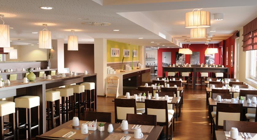 Ontbijtzaal van Hotel Leonardo in Berlijn