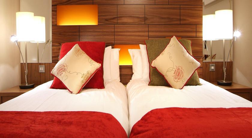 Tweepersoonskamer van Hotel Clontarf Castle in Dublin