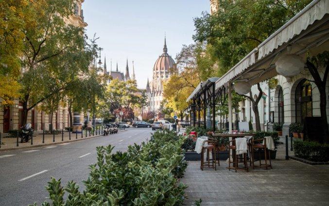 Budapest - Restaurant en parlement