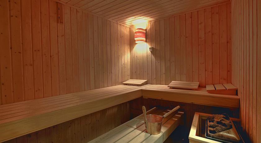 Sauna van Hotel Mediterran in Budapest