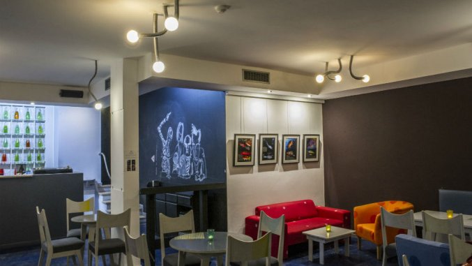 Ontbijtruimte van Studio's Dorisol Buganvilia op Madeira
