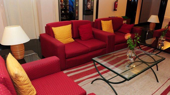 Lounge van Studio's Dorisol Buganvilia op Madeira