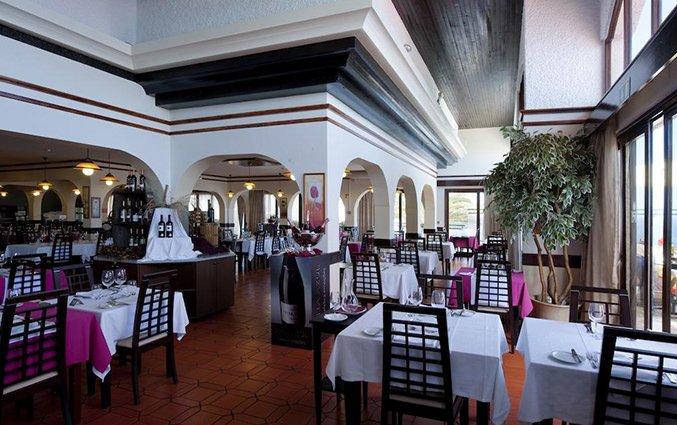 Restaurant van Hotel Roca Mar op Madeira