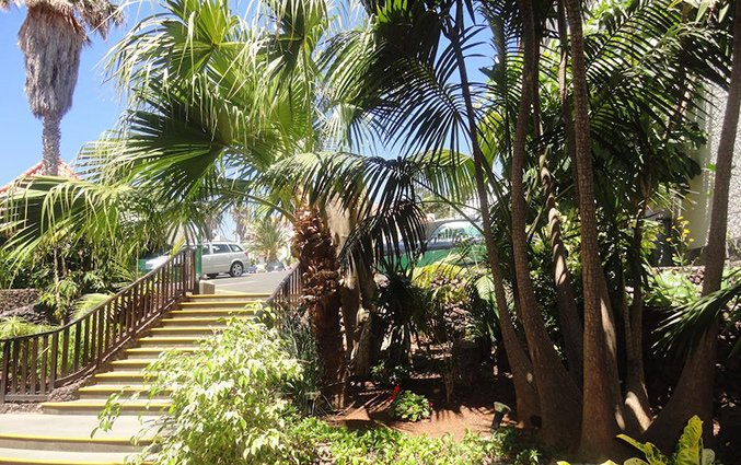 Entree van Hotel Roca Mar op Madeira