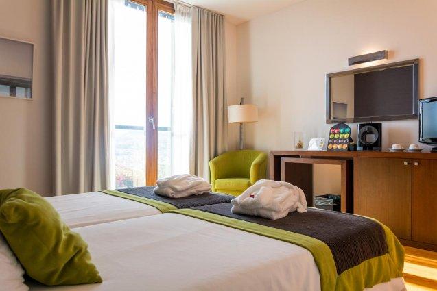 Tweepersoonskamer van Hotel ARTS in Conde Carvahal op Madeira