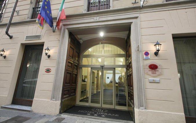 Buitenzijde van Hotel Urbani in Turijn