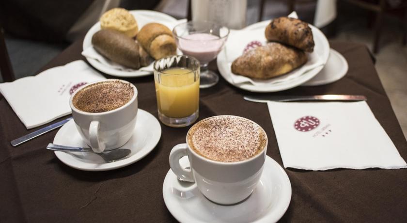Ontbijt in Hotel Urbani Turijn