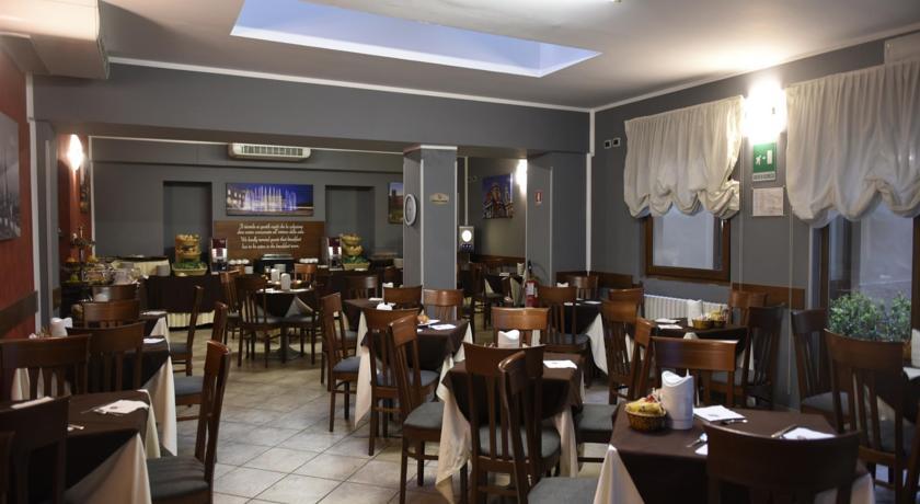 Restaurant van Hotel Urbani Turijn