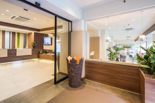 Lobby van Hotel Best Western Luxor in Turijn