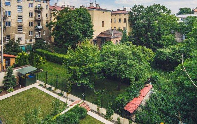 Tuin van Appartementen 4Seasons in Krakau