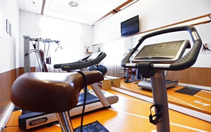Fitnessruimte in Hotel Novotel Torino Corso Giulio Cesare