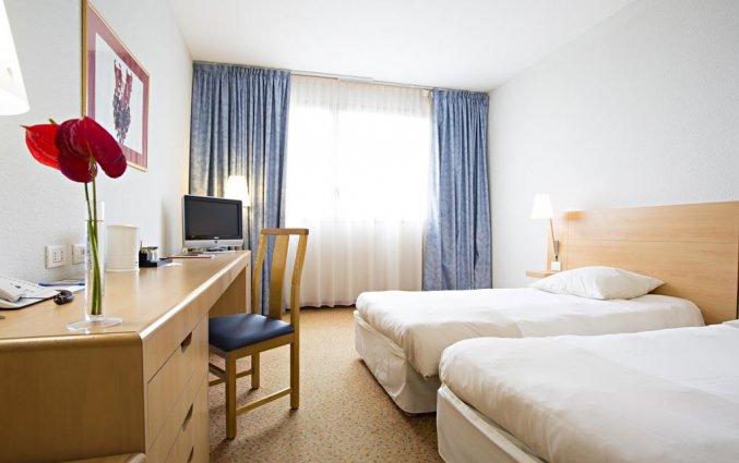 Kamer met enkele bedden in Hotel Novotel Torino Corso Giulio Cesare