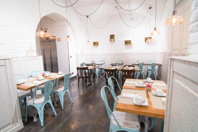 Restaurant van Hotel Petit Palace Plaza del Carmen Madrid