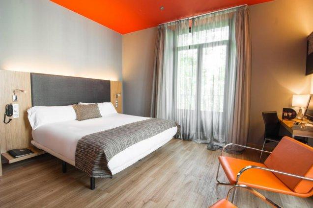 tweepersoonskamer van Hotel Petit Palace Plaza del Carmen Madrid