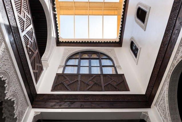 Binnenplaats van Riad Algila Fès