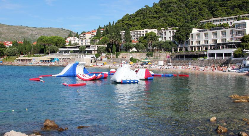 Uitzicht op Hotel Vis in Dubrovnik