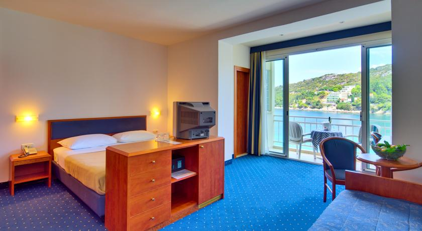 Tweepersoonskamer van Hotel Vis in Dubrovnik