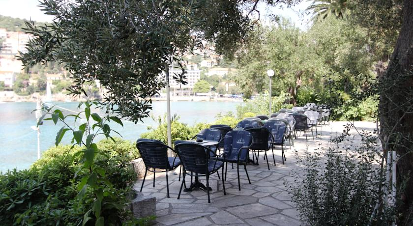 Terras van Hotel Vis in Dubrovnik