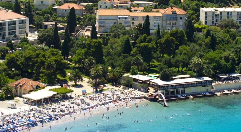 Uitzicht op Hotel Komodor in Dubrovnik