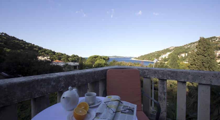 Restaurant met uitzicht van Hotel Komodor in Dubrovnik
